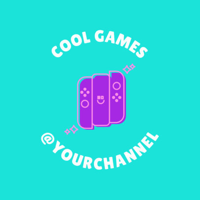 Cool Twitch Logo Maker with Switch Graphics 1636e