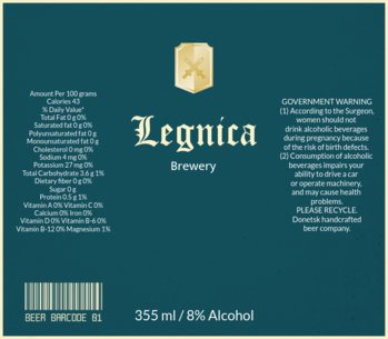 Beer Label Template for an Artisanal Brewery 772a
