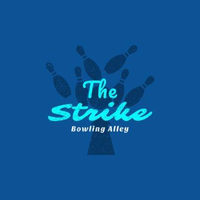 Bowling Logo Maker for Bowling Alleys 1585d