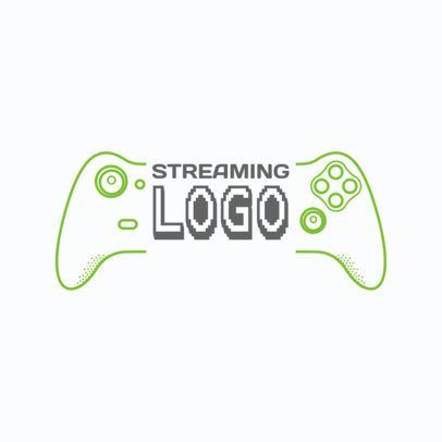 Gaming Logo Maker for Youtube Gaming Streaming Channel 1638b