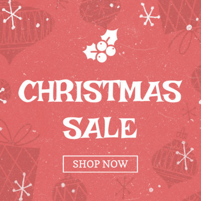Holiday Banner Maker for a Christmas Sale 778a