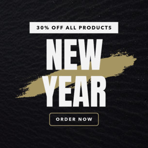 Modern Banner Maker for a New Year Discount Banner 747f