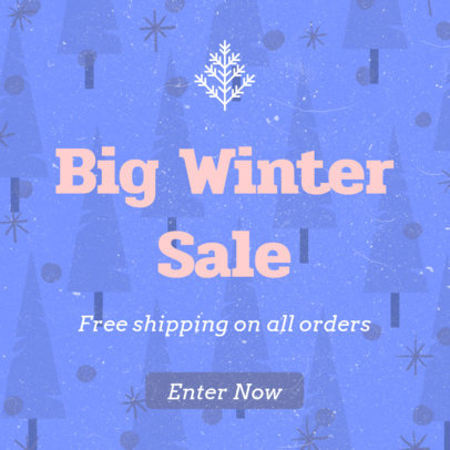 Holiday Banner Maker for a Big Winter Sale 778e