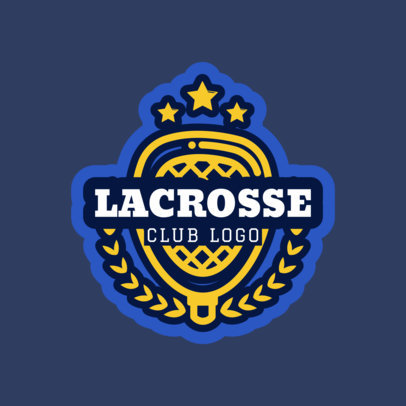 Lacrosse Logo Maker for a Lacrosse Team or Club 1592