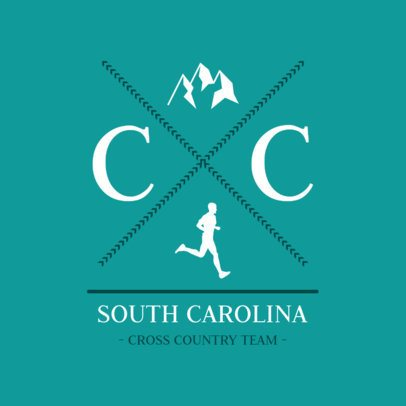 Cross Country Logo Generator for an XC Team 1568c