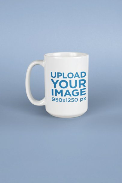 Coffee Mug Mockup in a Studio 23904