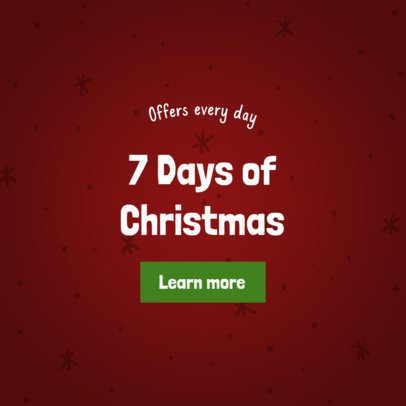 Christmas Banner Maker for Daily Store Discounts 787e