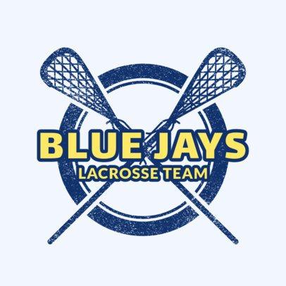 Lacrosse Team Logo Maker 1590a