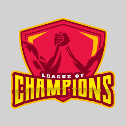 Wrestling Logo Maker for League of Champions 1540c