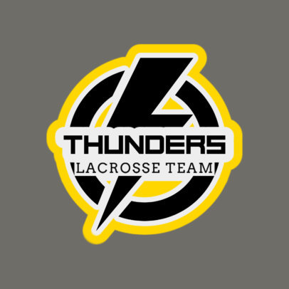 Lacrosse Logo Maker for a Local Lacrosse Team 1592c