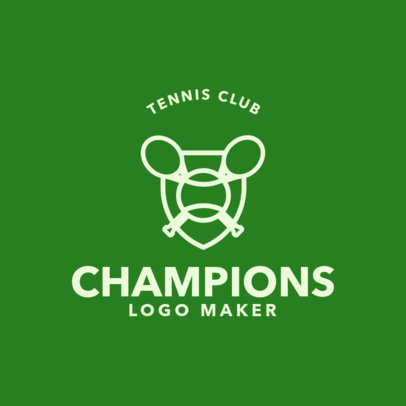 Tennis Logo Maker 1604