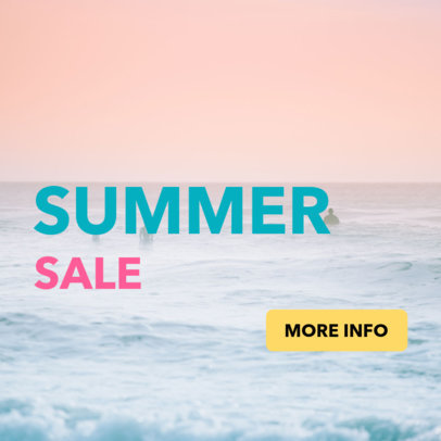 Simple Banner Maker for a Summer Sale Event 16638c