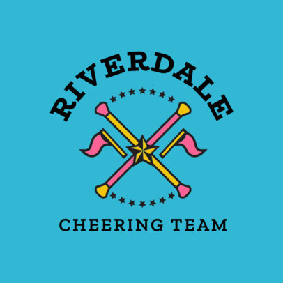 Cheer Logo Maker for a Cheering Team 1596e