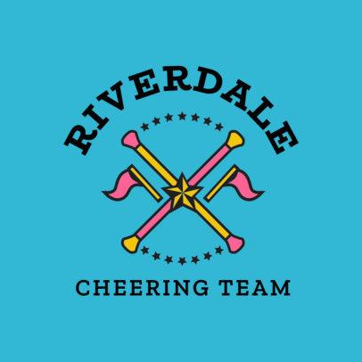 Cheer Logo Maker for a Cheering Team 1596e