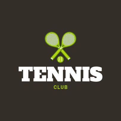 Tennis Club Logo Maker 1601a