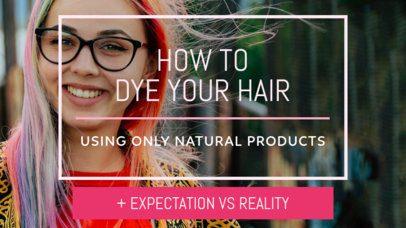 Youtube Thumbnail Designer for Beauty Advice 932b