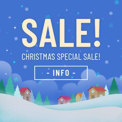 Christmas Banner Maker for a Christmas Special Sale 783b