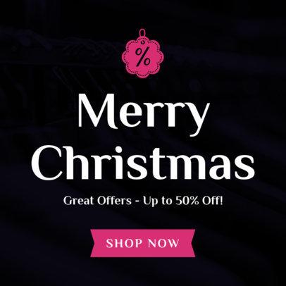 Christmas Banner Design Maker for Christmas Offers 780e--1762