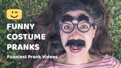 YouTube Thumbnail Maker for a Pranks YouTube Channel 903e