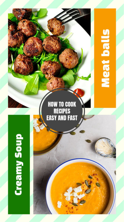 Instagram Story Template for Food Recipes 970