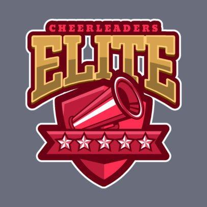 Cheer Logo Maker for a Varsity Cheer Squad 1598c