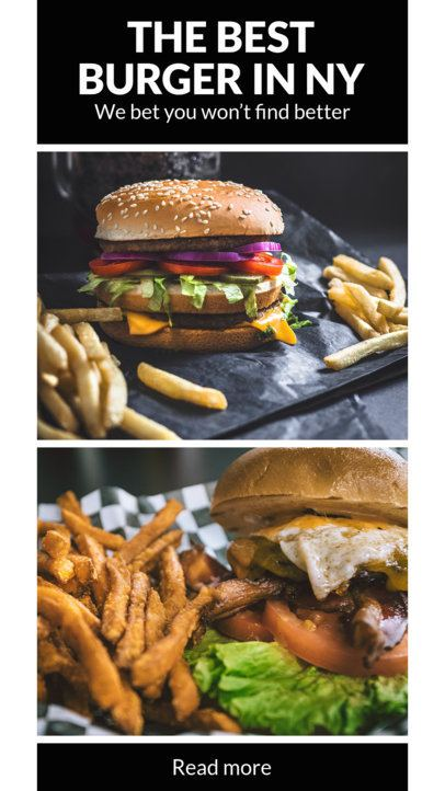 Instagram Story Template for Restaurants 941
