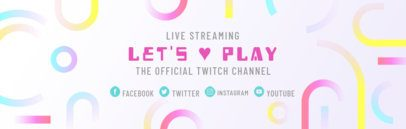 Live Streaming Twitch Banner Maker 586c