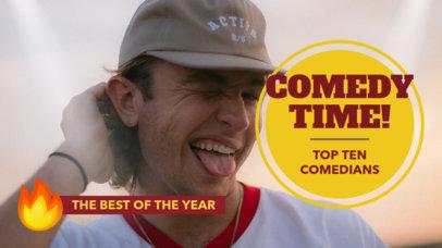 Youtube Thumbnail Creator for a Comedy Ranking Vlog 887b