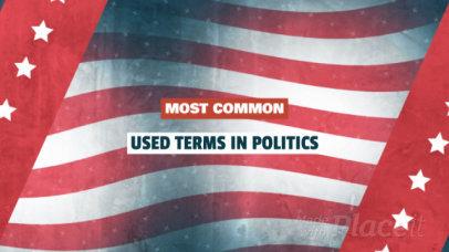 Content Teaser Slideshow Maker for a Politics Video 446c 832