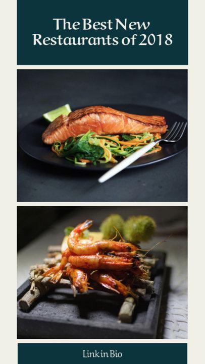 Insta Story Template for a Restaurants List 941c