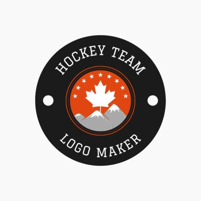 Hockey Logo Maker for a Hockey Team 1561
