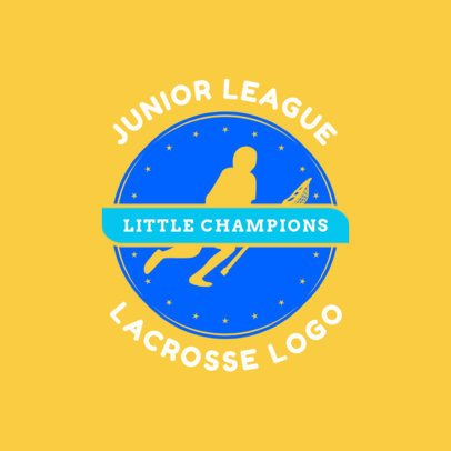Lacrosse Logo Creator for a Lacrosse Junior League 1593e
