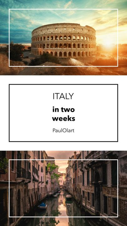 Instagram Story Template for Travel Advice 956