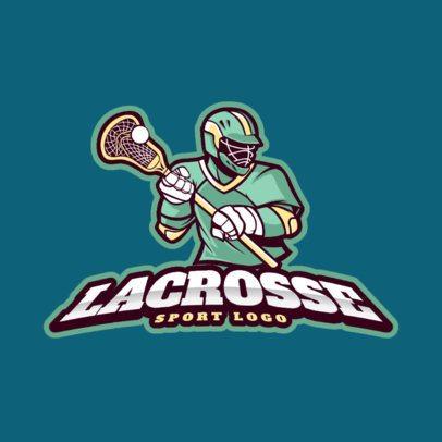 Lacrosse Logo Design Template 1591