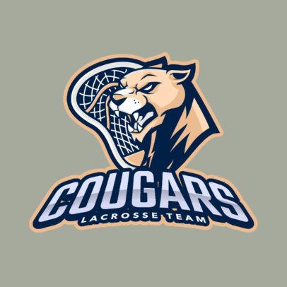 Lacrosse Logo Maker for a Professional Lacrosse Team 1591c