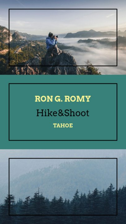 Instagram Story Maker for Hiking Photography 956c