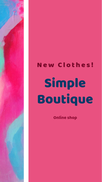 Insta Story Maker for a Boutique Page 957e