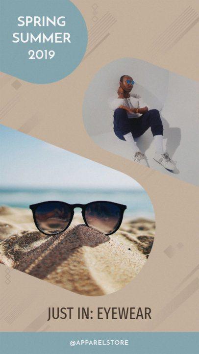 Instagram Story Maker for New Arrivals in Eyewear 949e