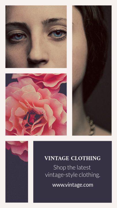 Insta Story Maker for a Vintage Clothing Brand 942e