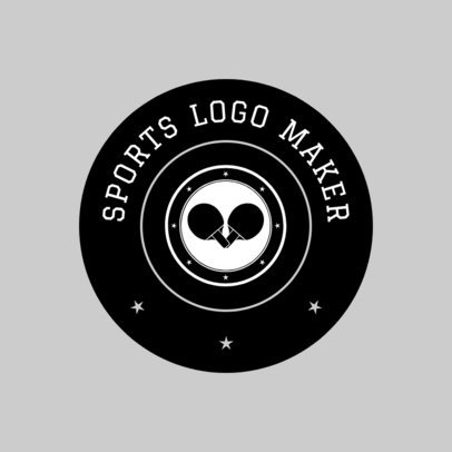 Table Tennis Logo Generator 1627c