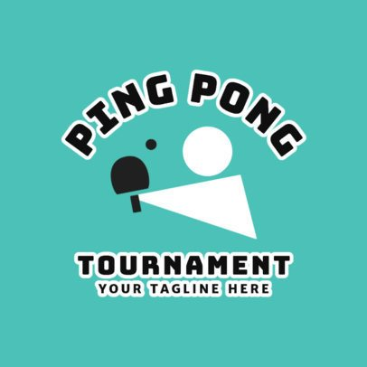 Ping-Pong Logo Maker for a Ping-Pong Tournament 1624a