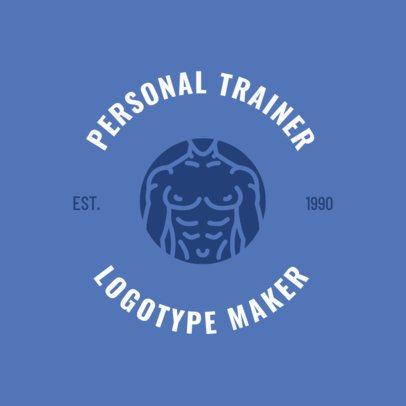 Personal Trainer Logo Maker 1273f