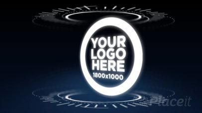 Intro Maker for a Futuristic Logo Reveal 10a 974