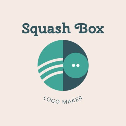 Squash Logo Creator for a Squash Court 1634d