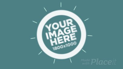 Intro Video Maker for a Logo Intro with Circular Graphics 3a 978