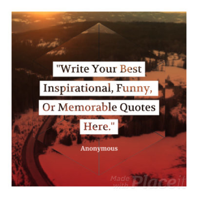 Instagram Video Maker for an Inspirational Quote Video 875