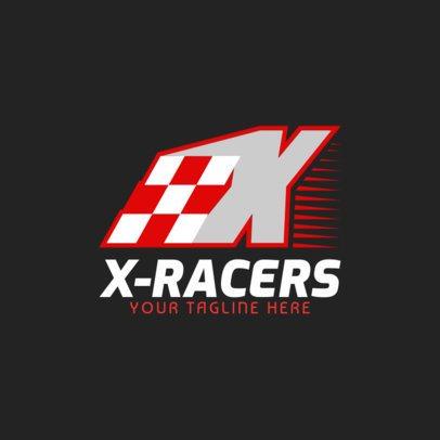 Racing Logo Maker for a Racing Team 1644a
