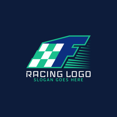 Racing Logo Maker for Car Racing Clubs 1644c
