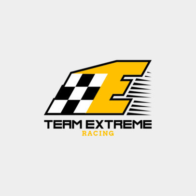 Car Racing Logo Maker with Race Graphics 1644d