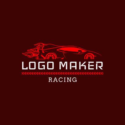 Racing Logo Design Template for Auto Race Teams 1648b